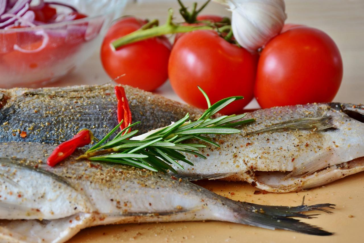 ricette di pesce light