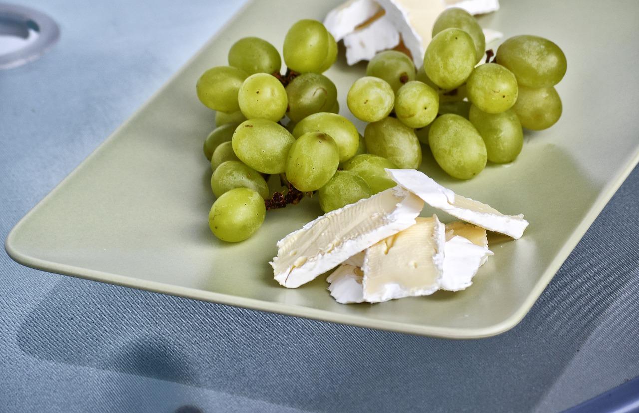 risotto all'uva con stracchino