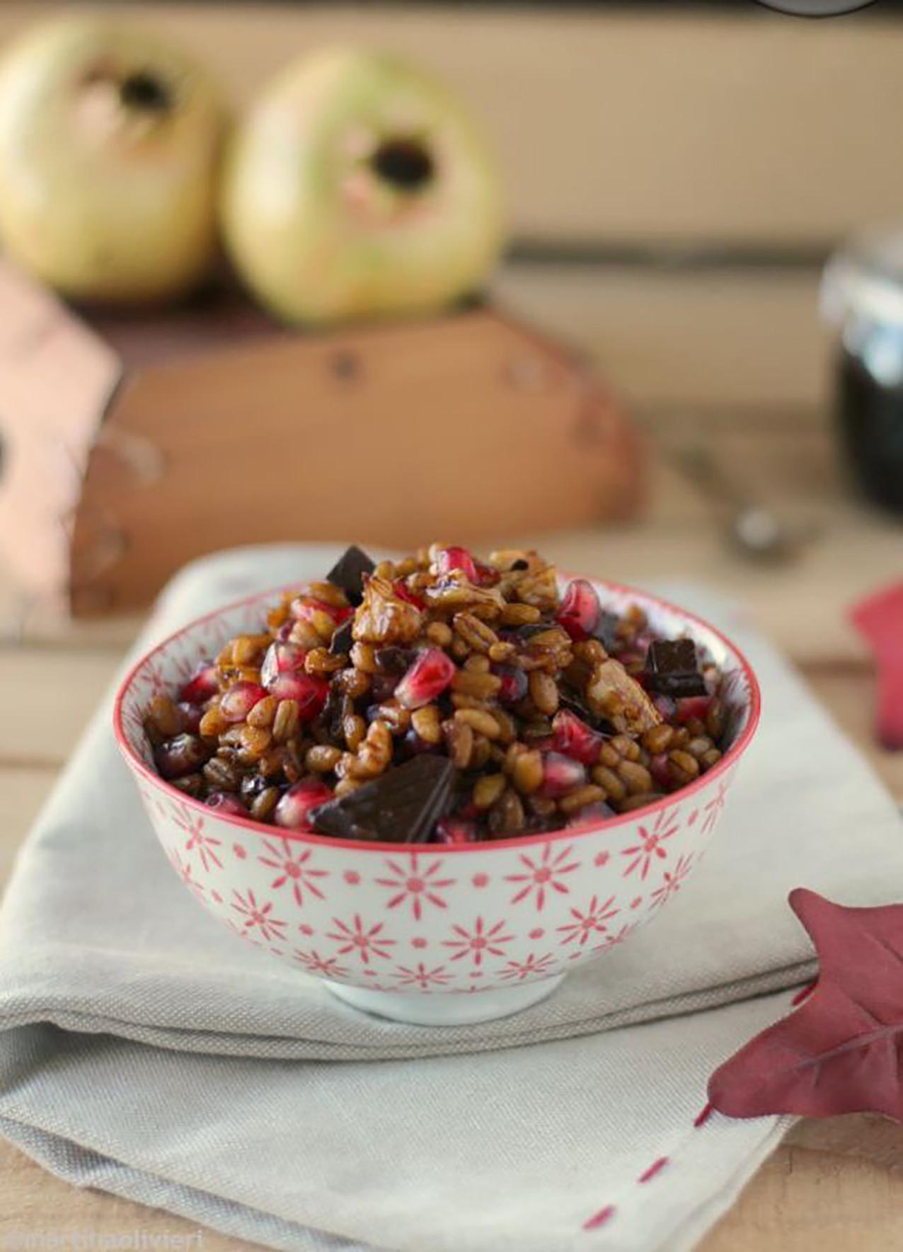 grano cotto  grano dei morti  ricetta pugliese   le ricette di libellula