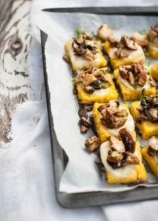 mattonella di polenta con fontina funghi porcini e finferli by delle ortiche 23