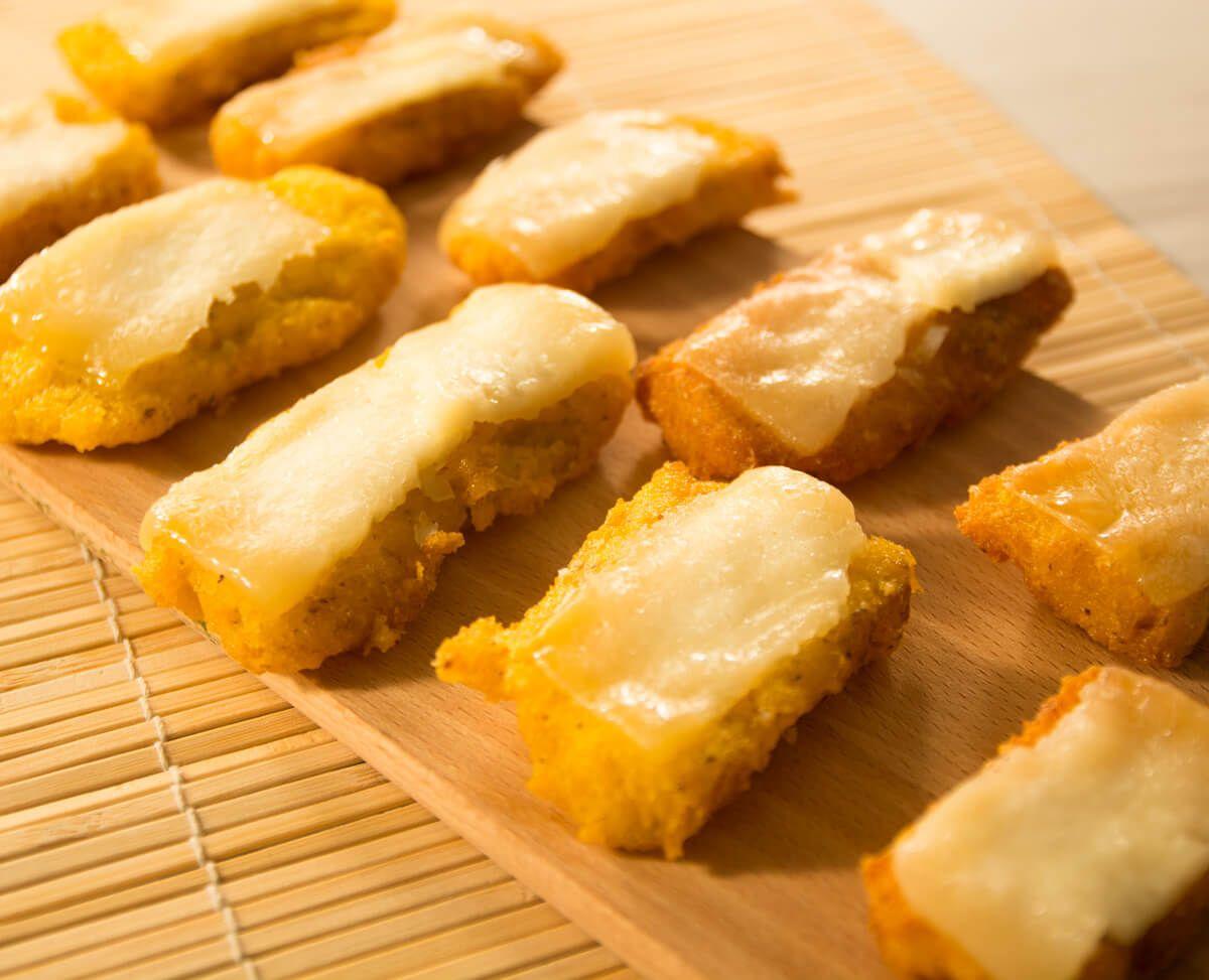 ricetta polenta fritta con formaggio fuso