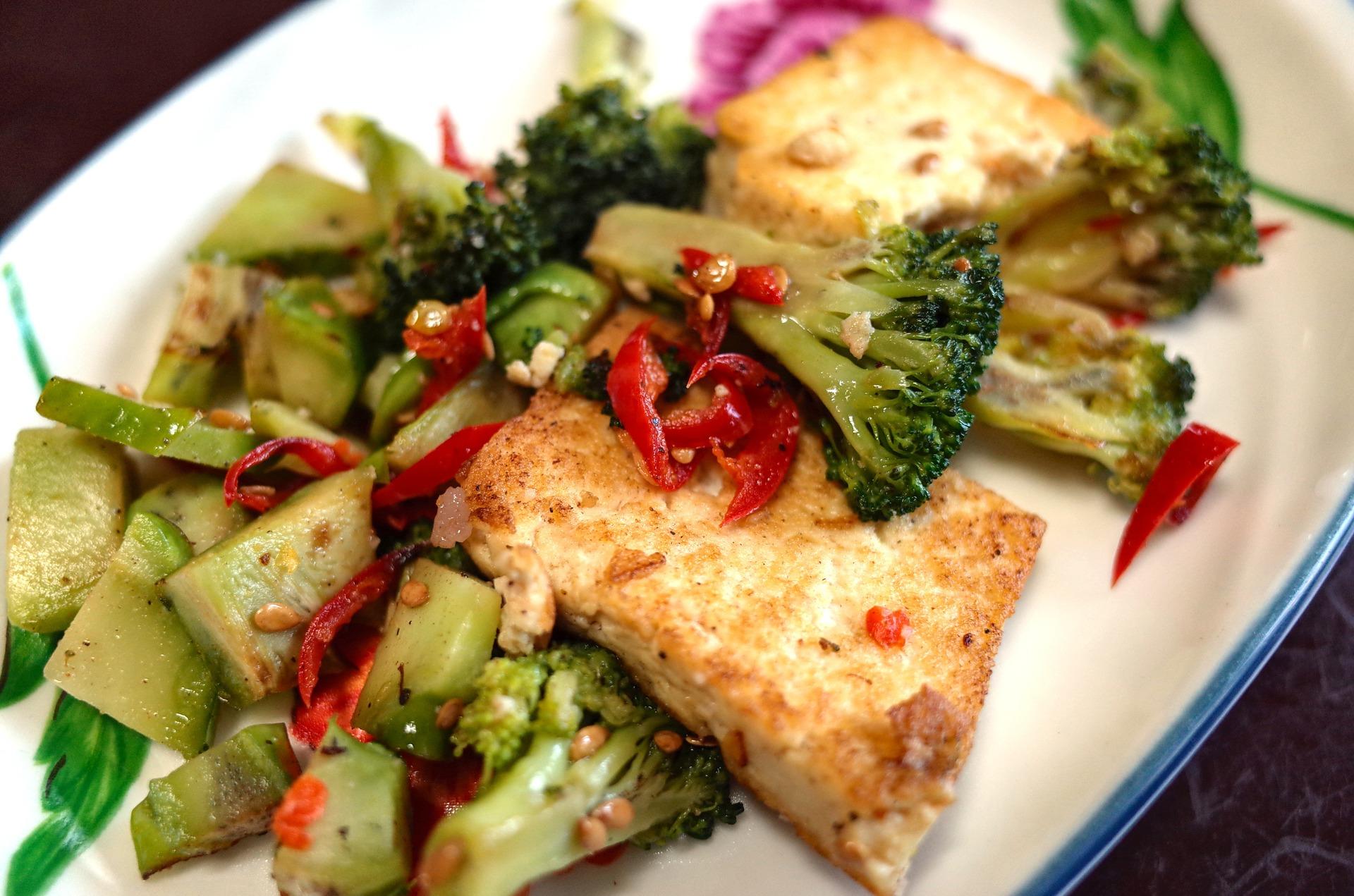 Ricette con tofu alla piastra