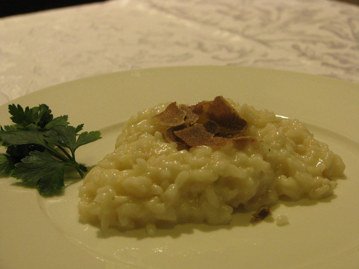 risotto tartufo bianchetto