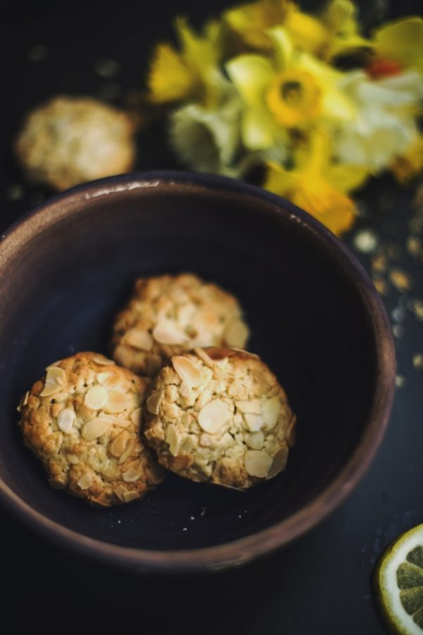 biscotti salati con amaranto