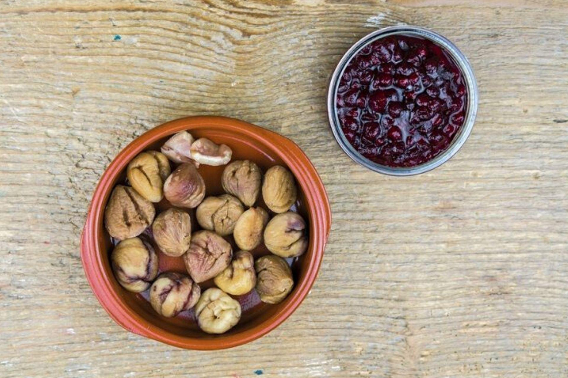 Castagne secche al vino rosso: preparazione e curiosità