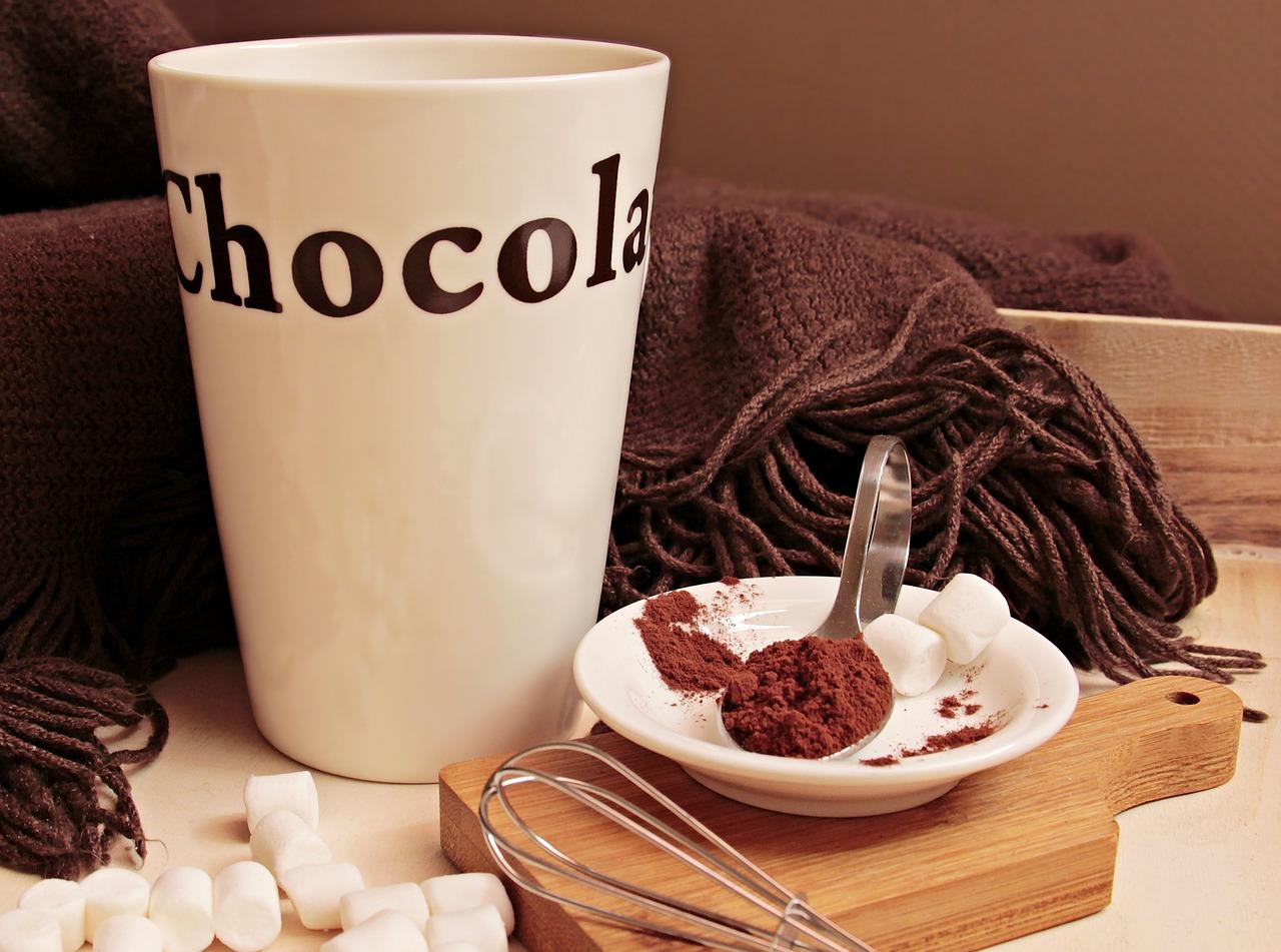 Cioccolata calda ricetta con cacao in polvere