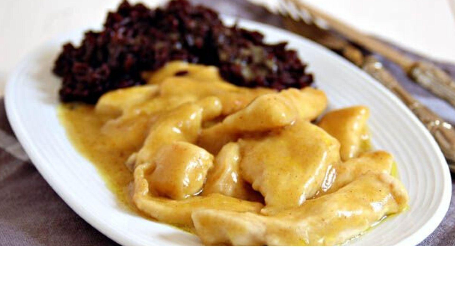 Straccetti di pollo al curry senza panna