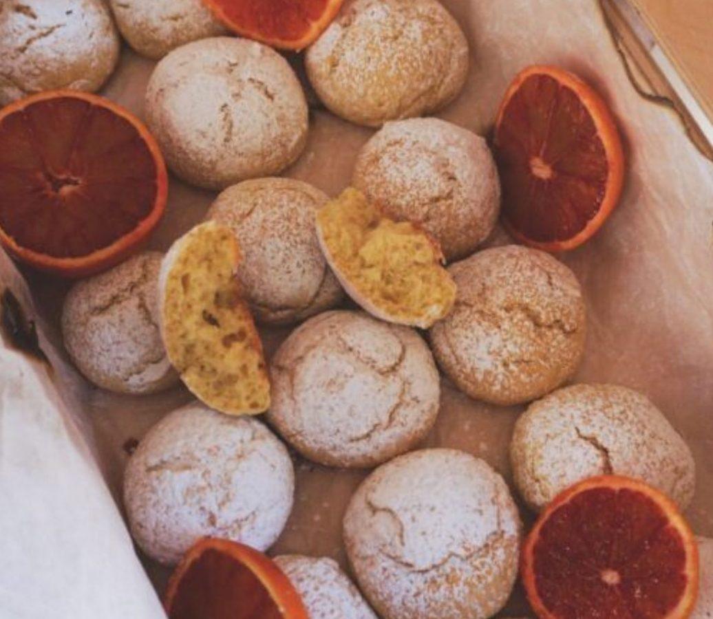 biscotti arancia e ricotta