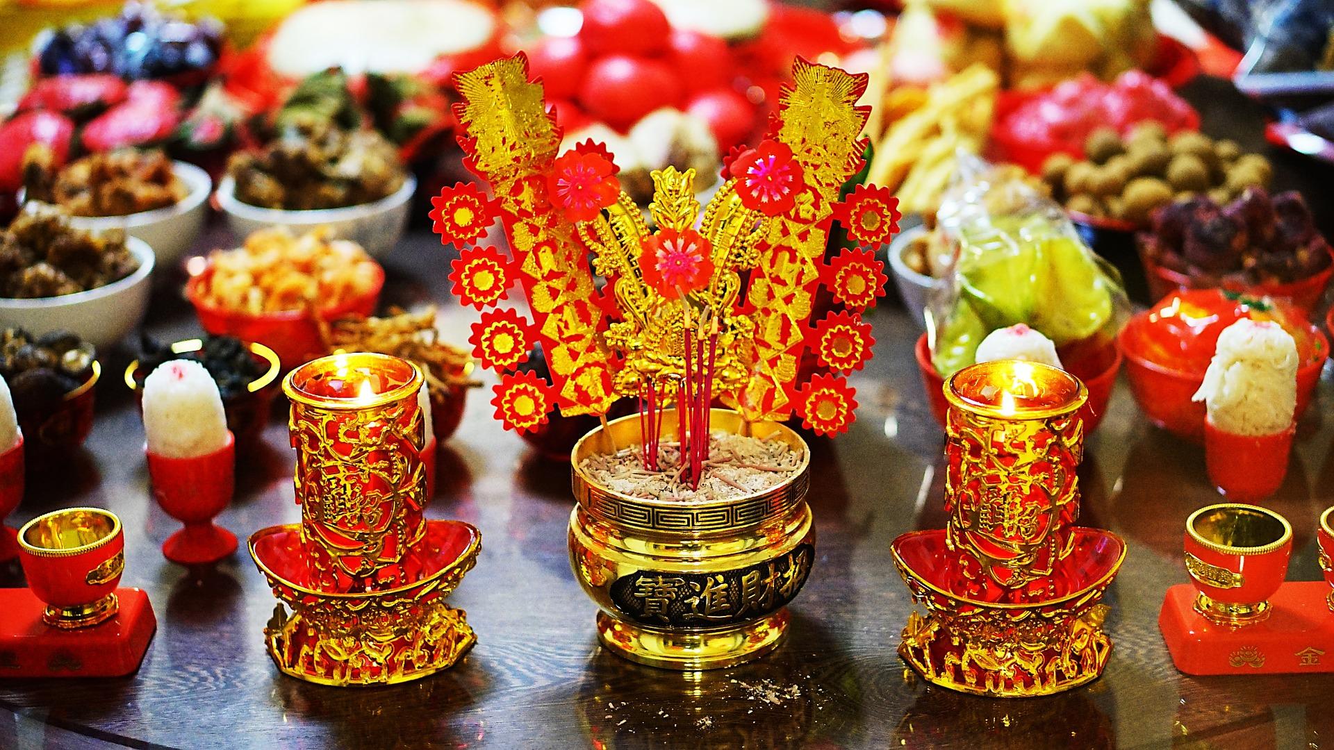 Capodanno cinese dolci tipici