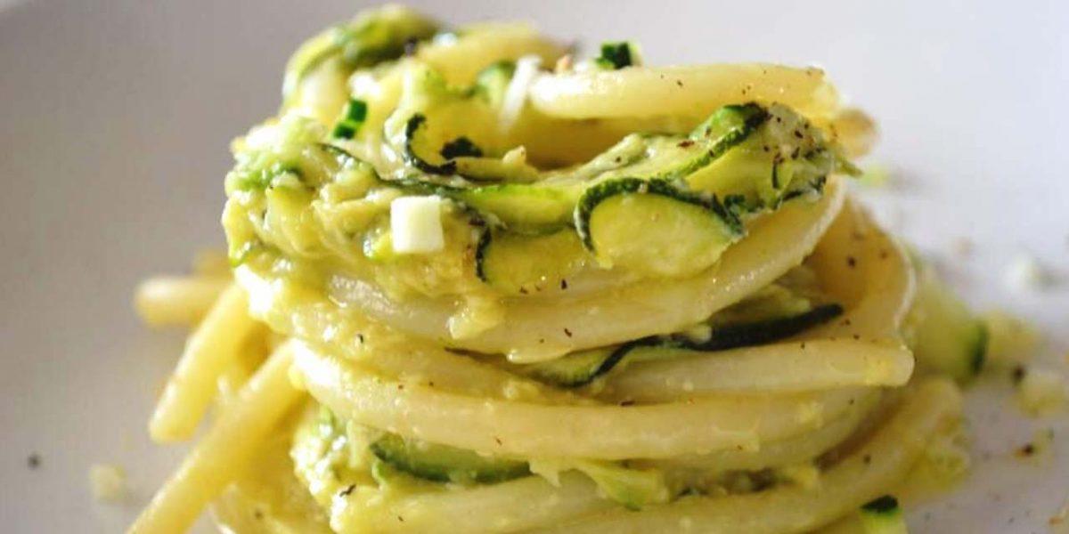 Carbonara di zucchine dietetica