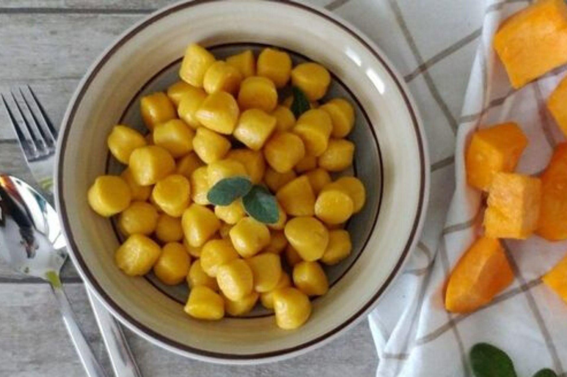 Gnocchi di zucca dietetici: ingredienti e ricetta