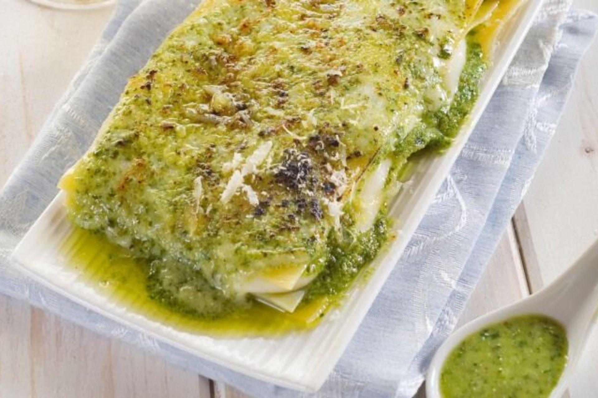 lasagne al pesto ricetta veloce
