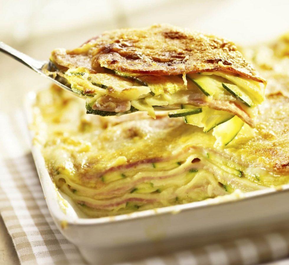 lasagne light di zucchine
