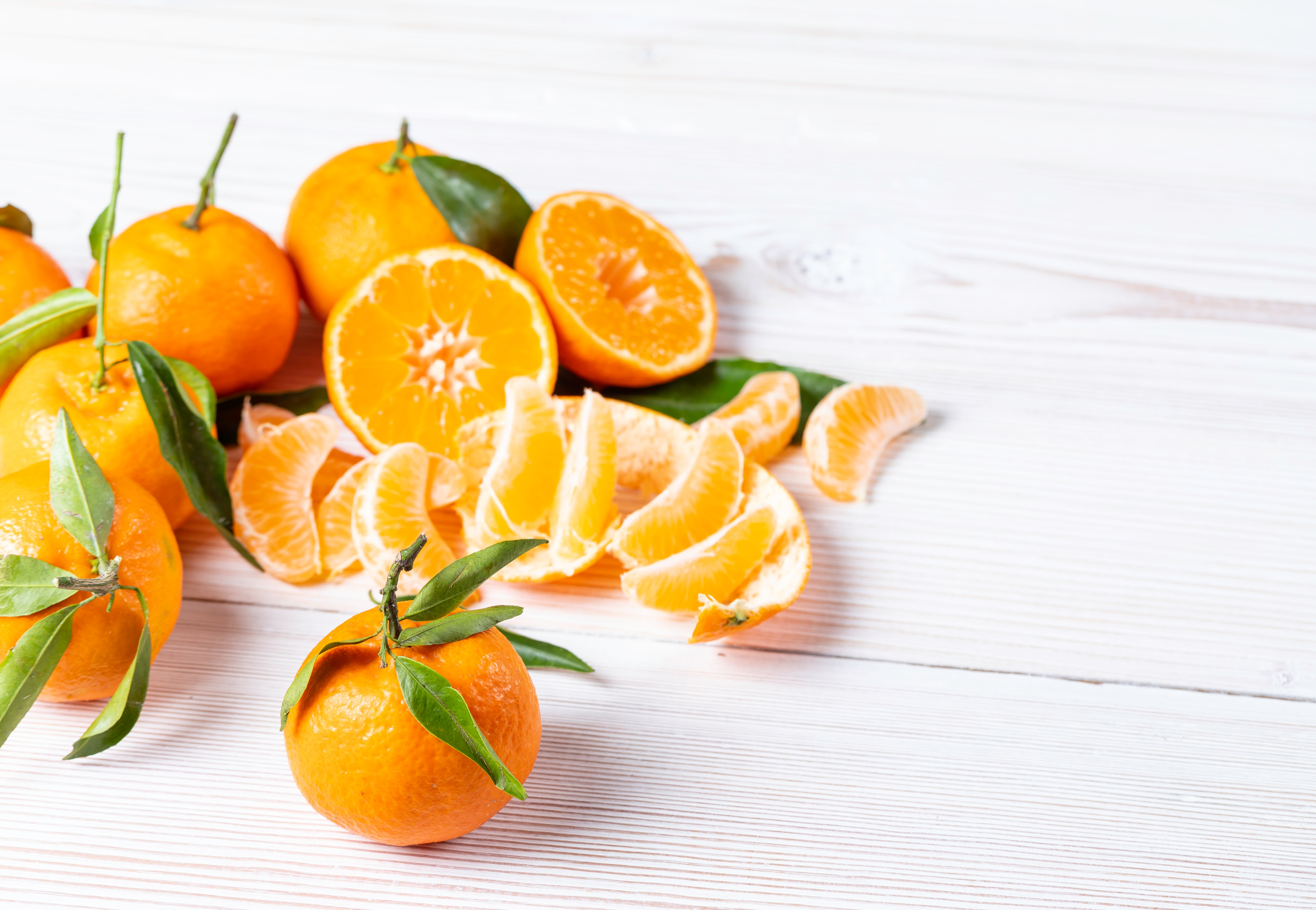 Mandarini al cioccolato fondente
