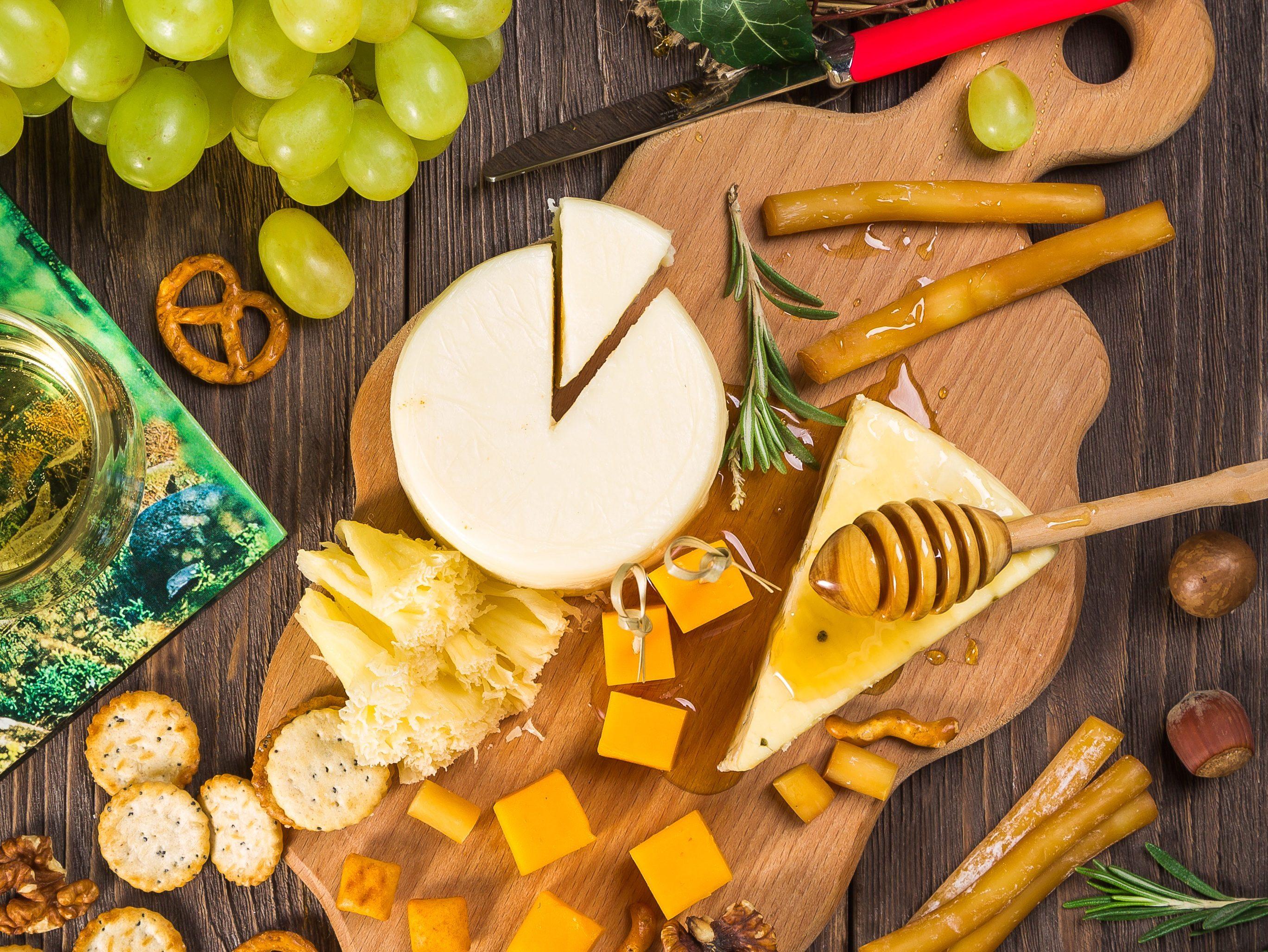Miele di sulla e formaggio