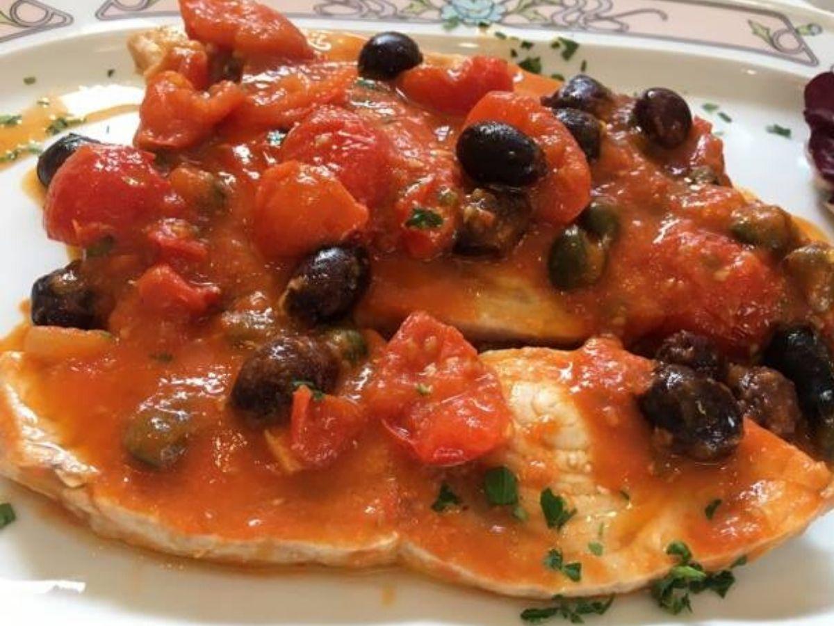 Pesce spada alla siciliana al forno