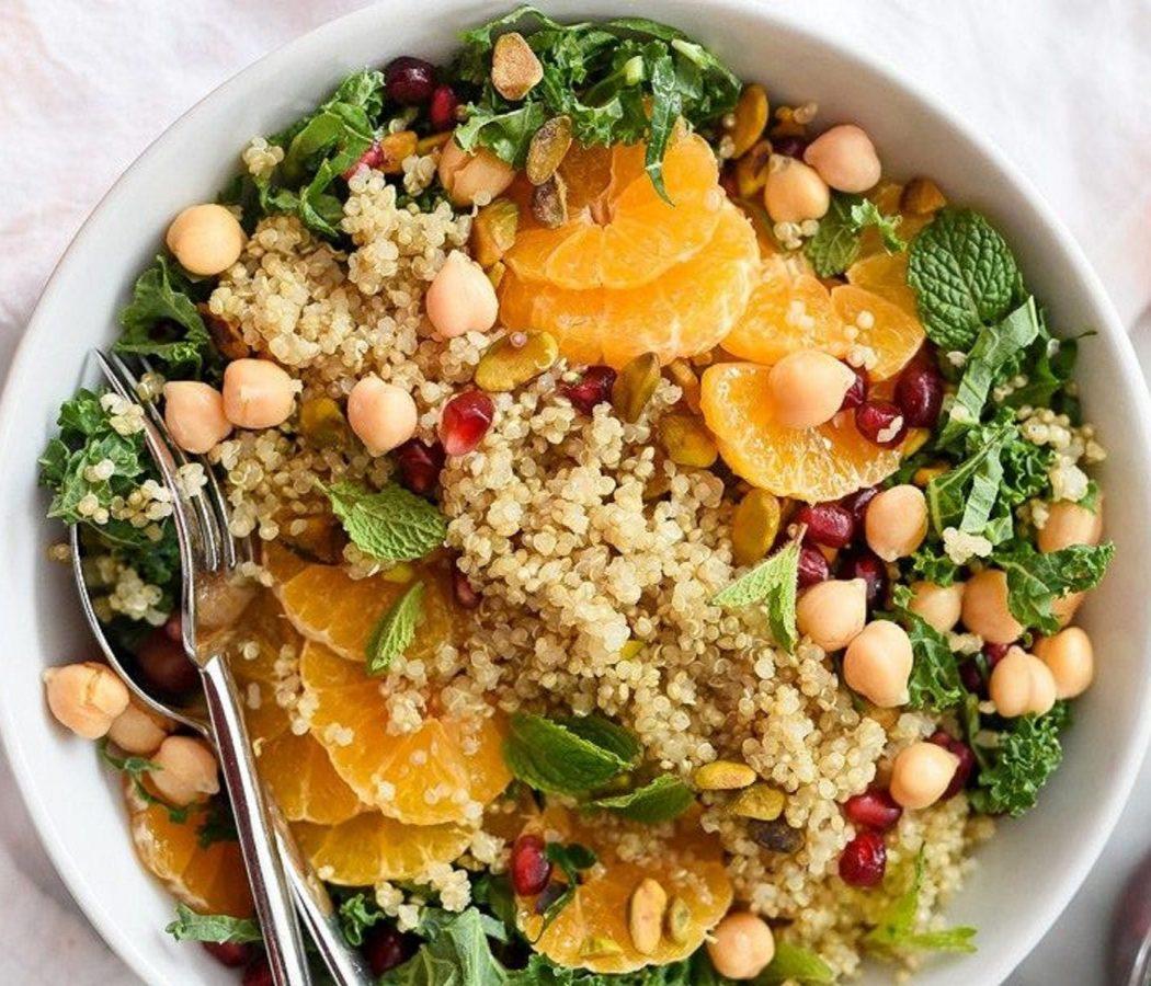 Quinoa all'insalata ricetta