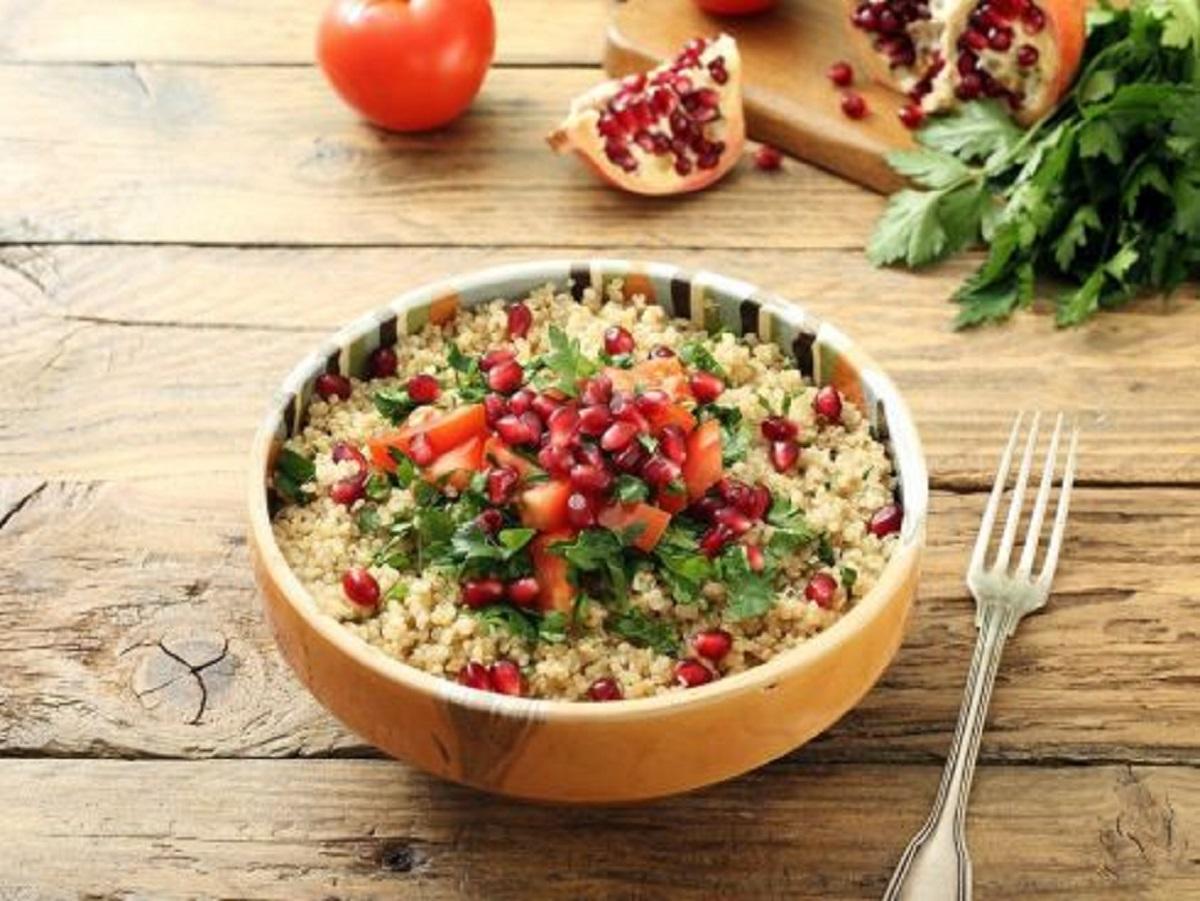 Quinoa all'insalata