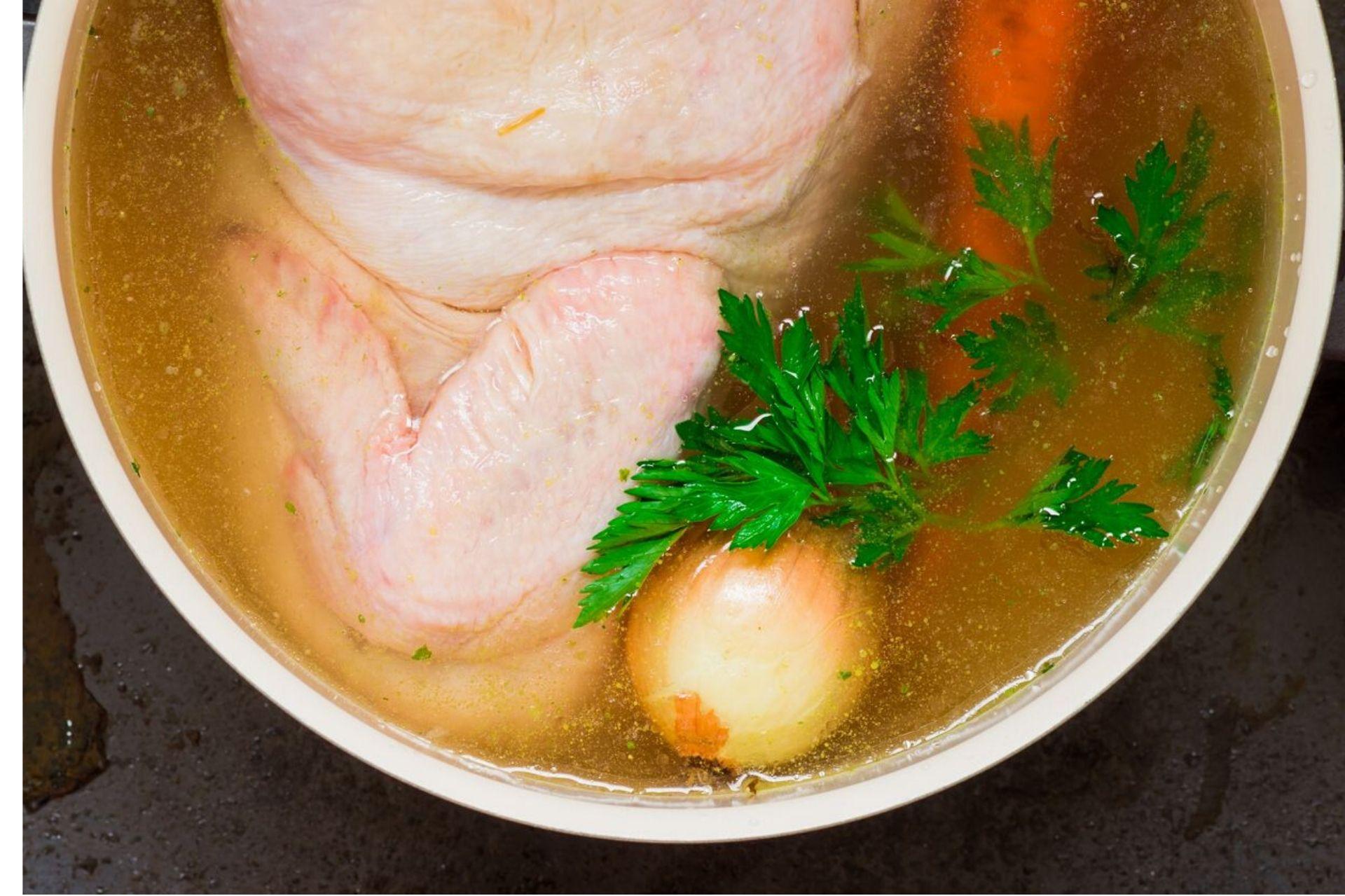 ricetta brodo di pollo bimby