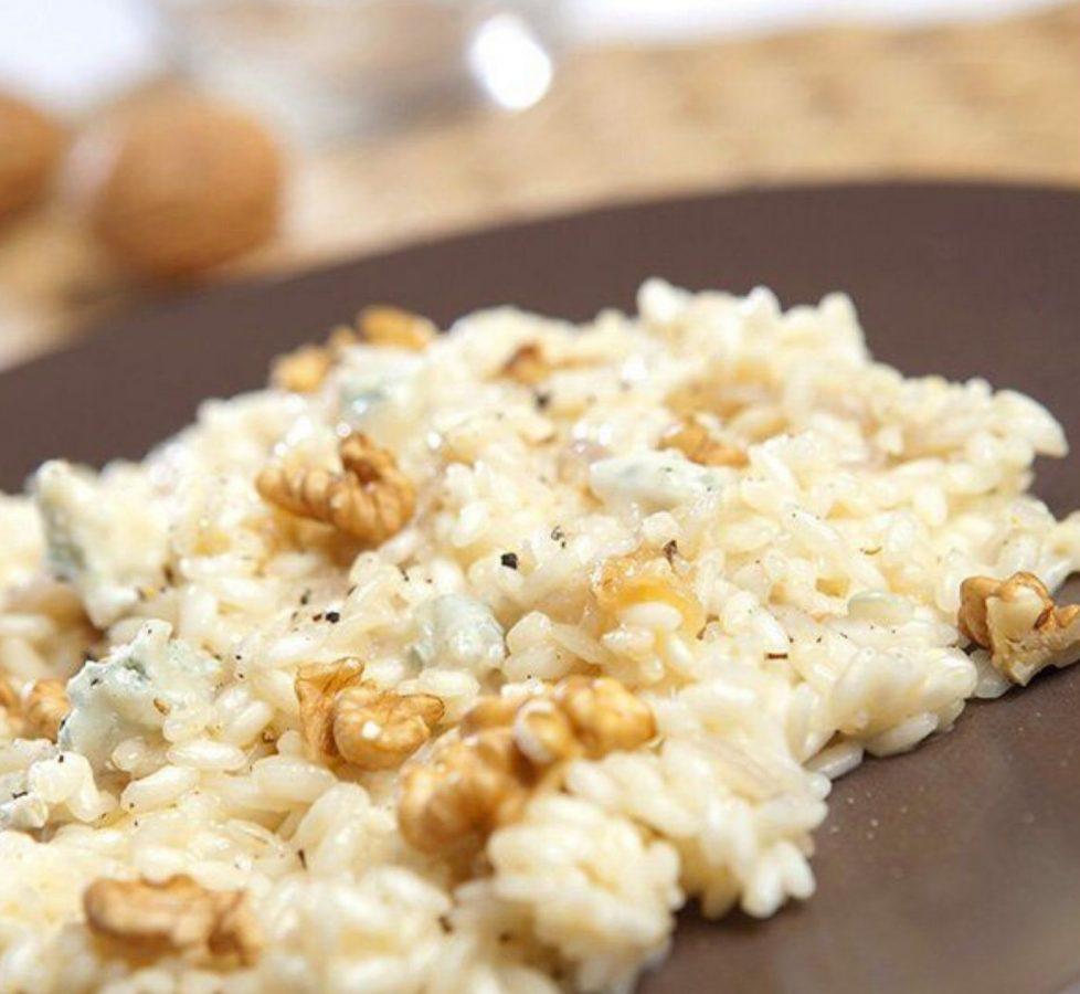 risotto noci e gorgonzola