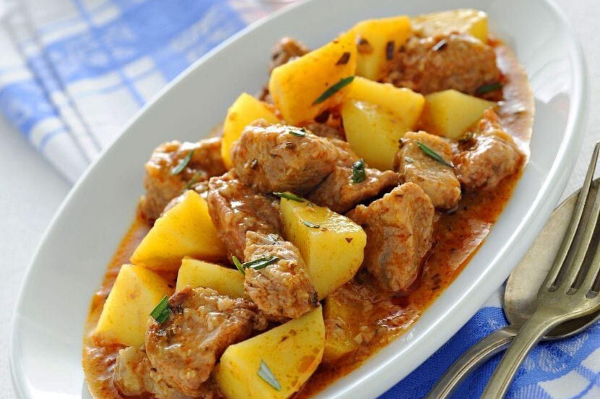 Spezzatino con patate ricetta veloce