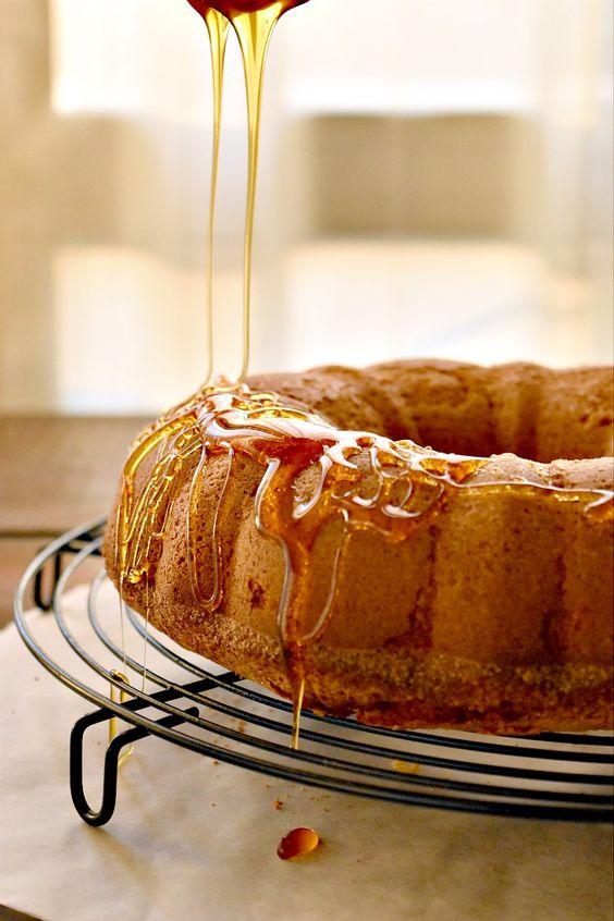 torta con miele di melata