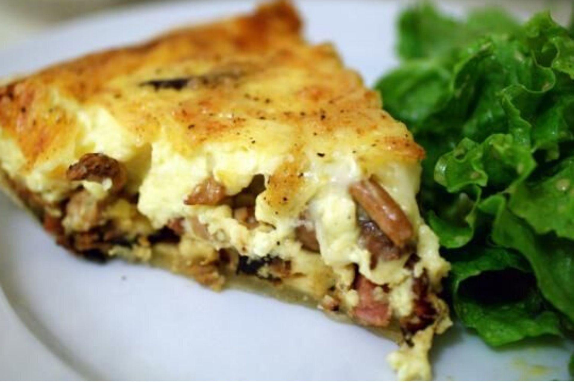Torta salata invernale montanara: un piatto sostanzioso