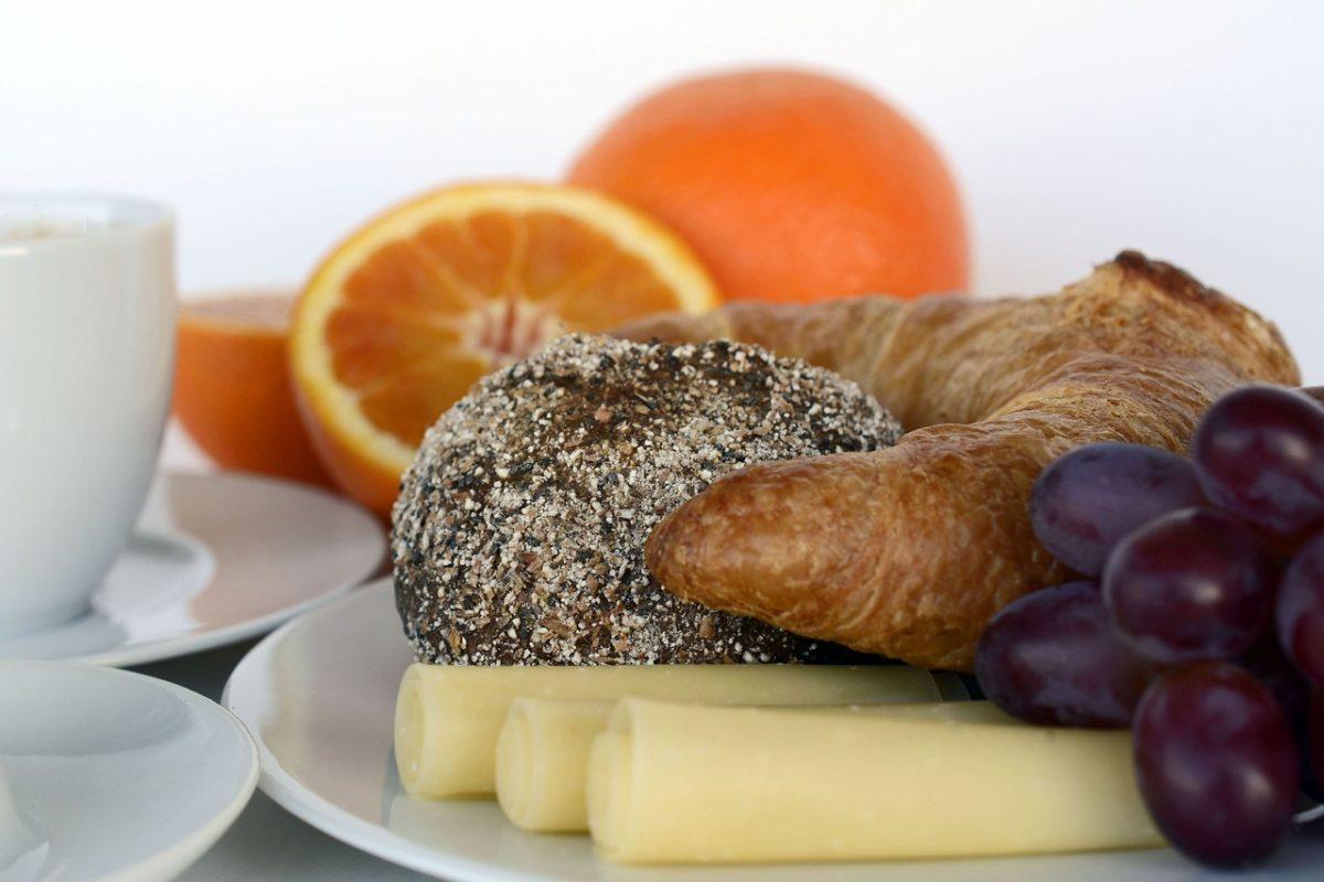 arancia a colazione