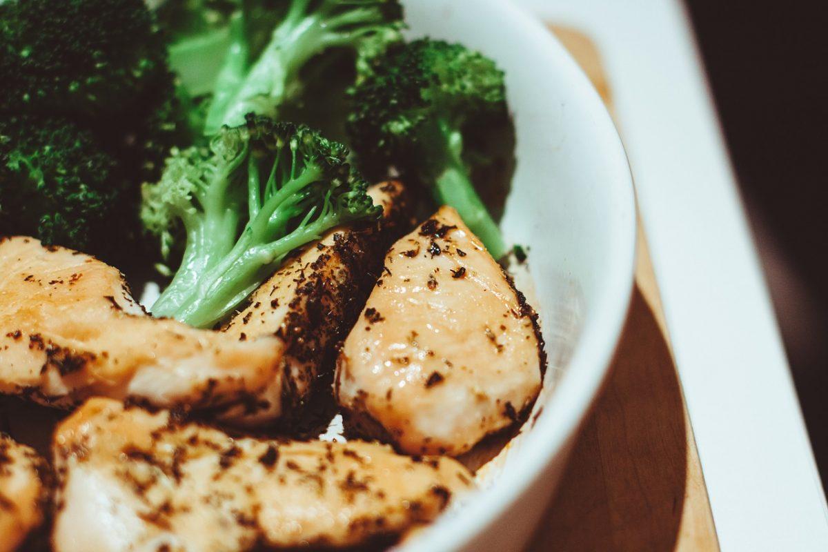 broccoli e pollo