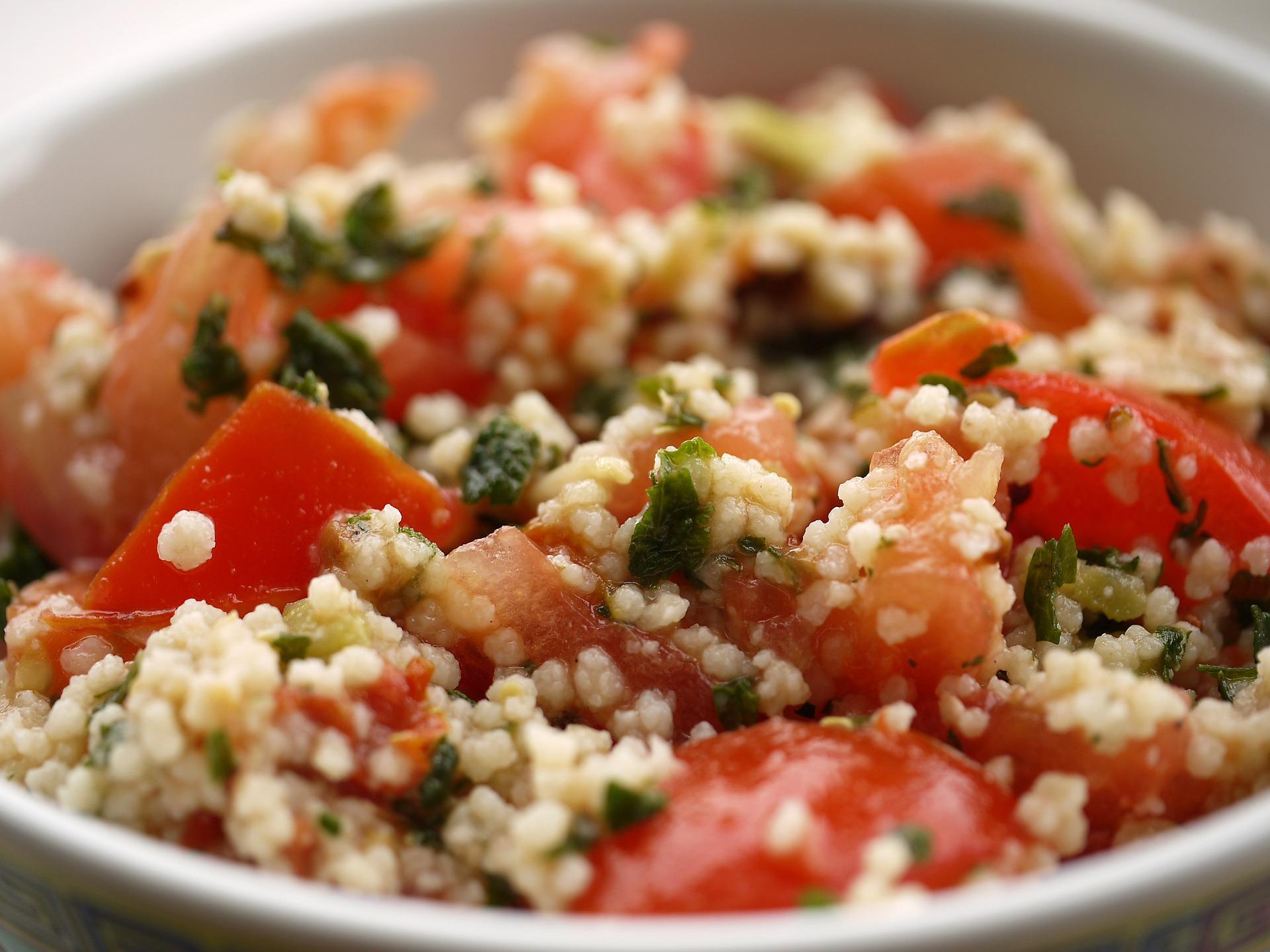Cous cous di verdure siciliano