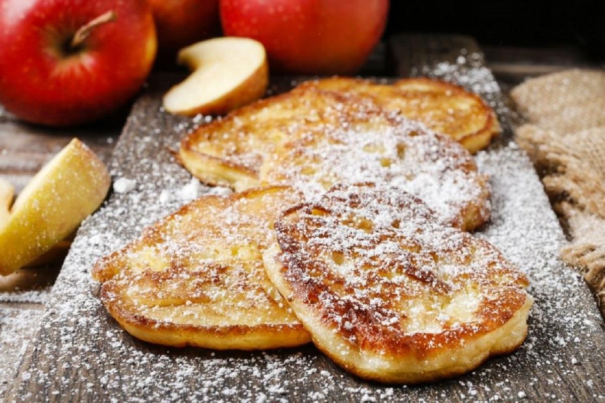frittelle di mele al forno con Bimby