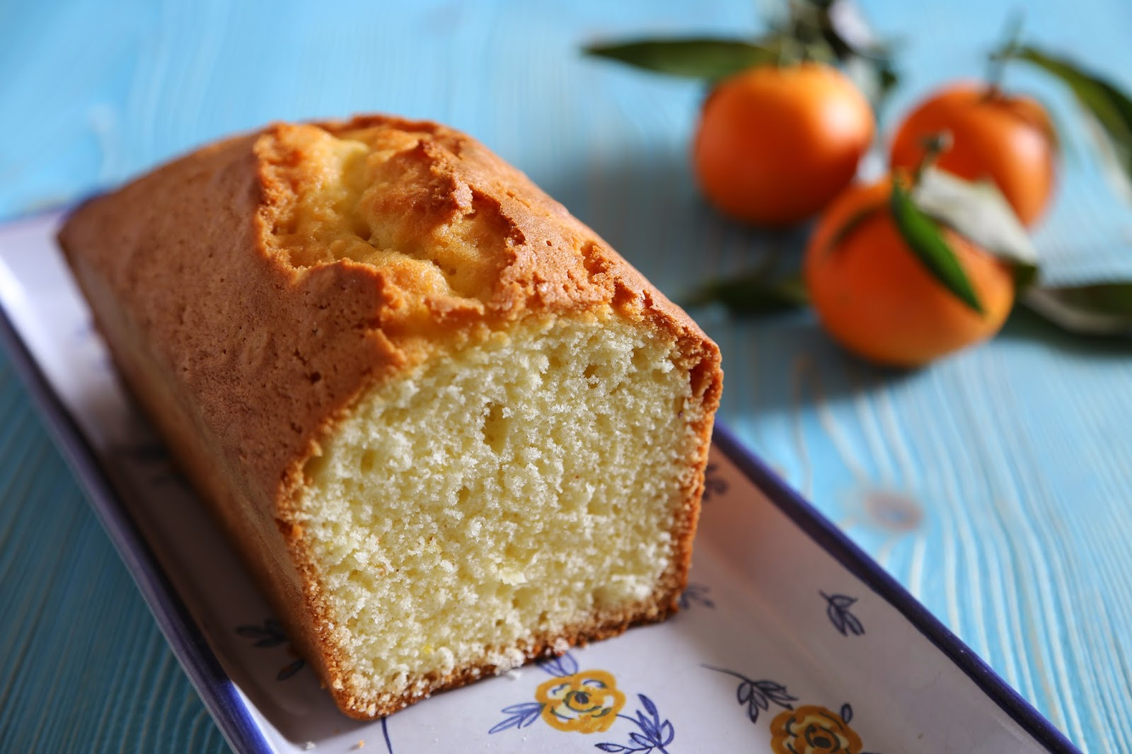 Pan di mandarino senza glutine