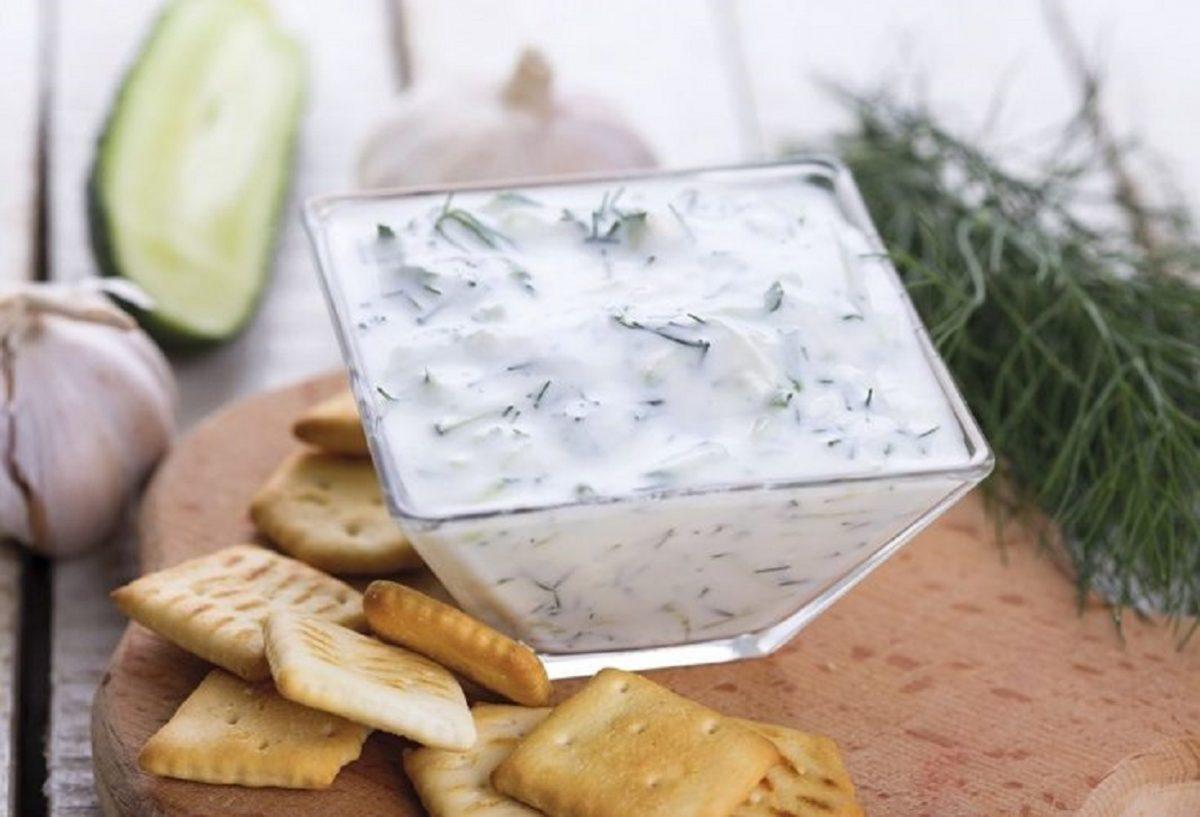 tzatziki ricetta senza cetriolo