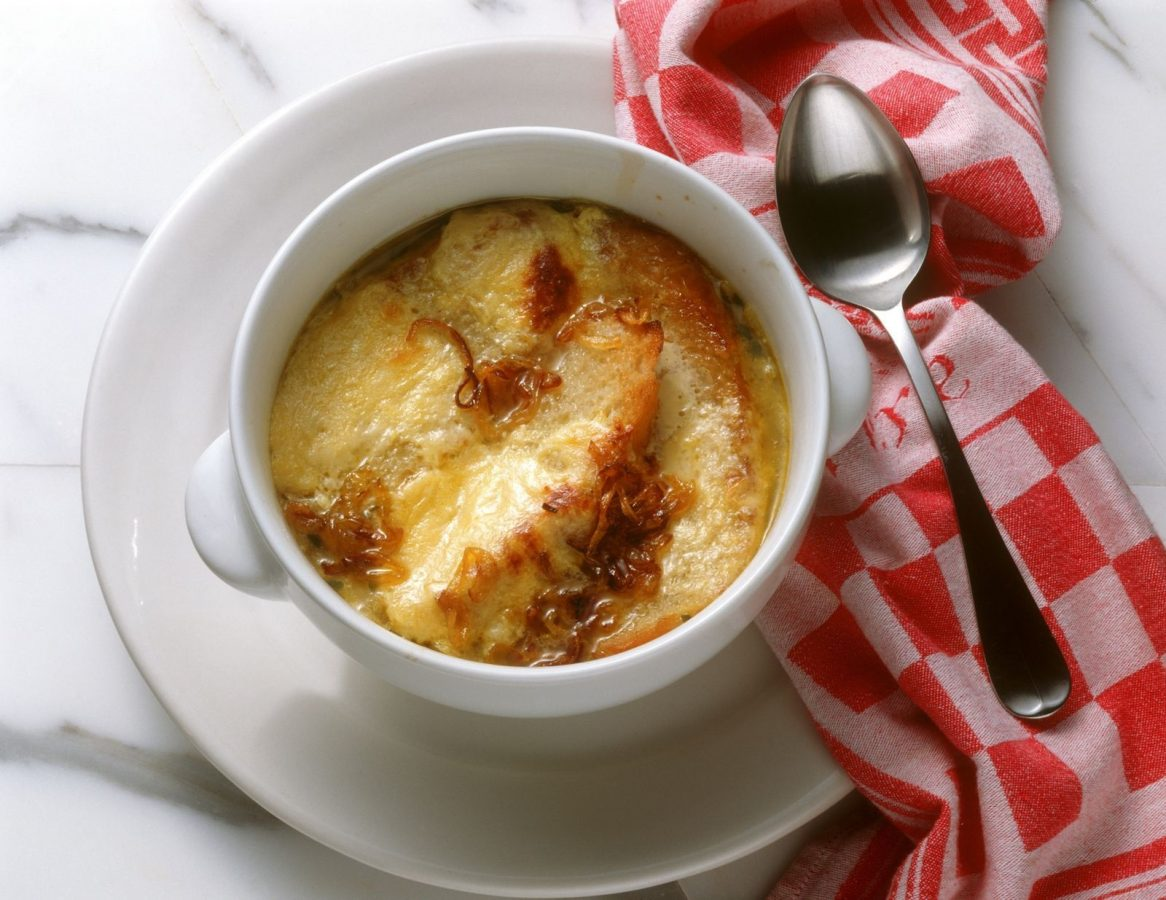 zuppa di cipolle ricetta semplice