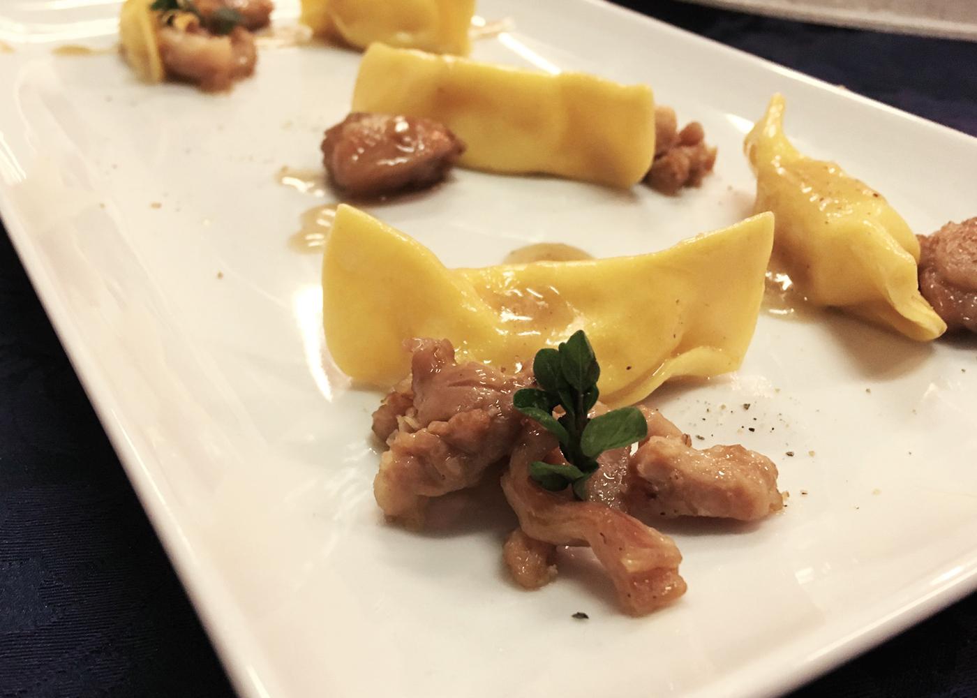 Casoncelli di polenta con coniglio