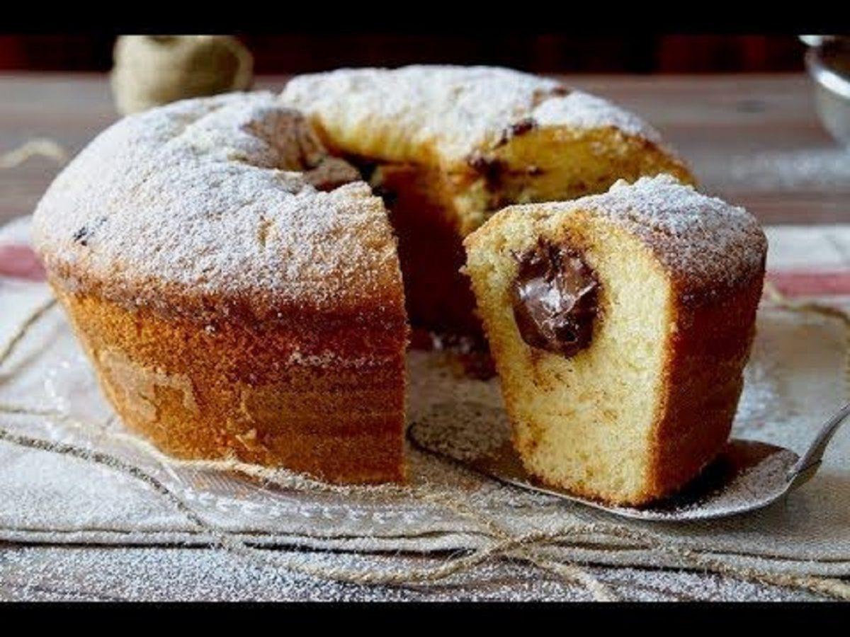 Ciambella al Mascarpone e cioccolato bimby