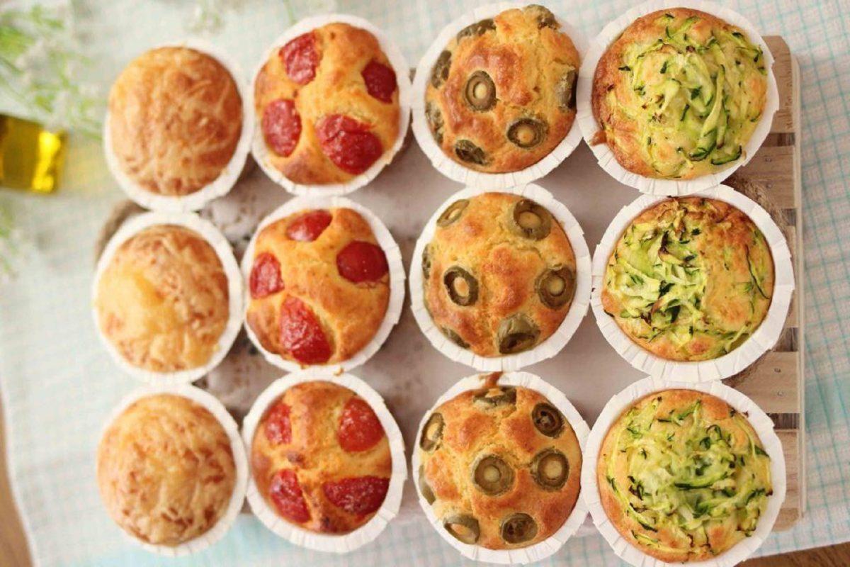 muffin di pizza ricetta bimby