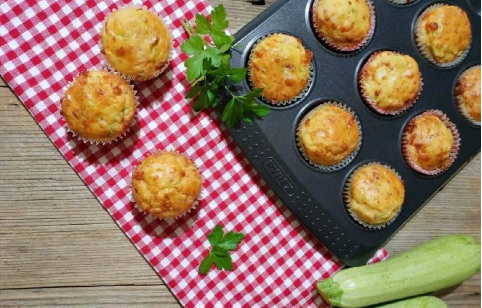 muffin salati bimby ricotta e zucchine