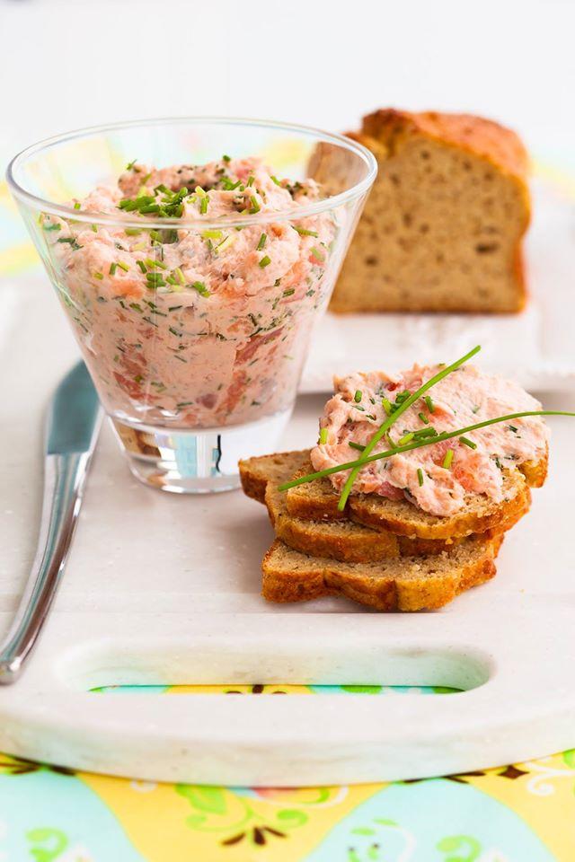 Patè di salmone fresco ricetta