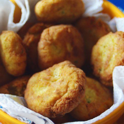 Polpette di baccalà e patate al forno bimby