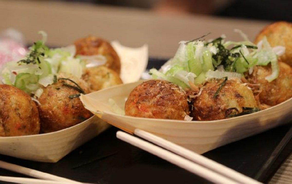 ricetta polpette di polpo giapponesi