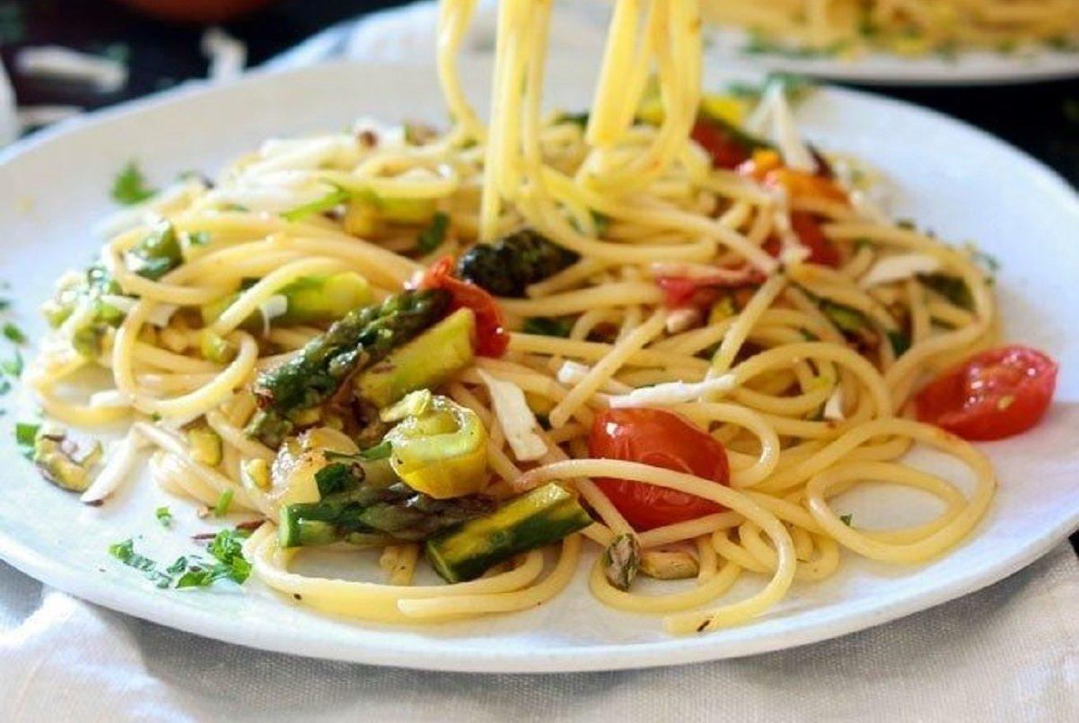 Spaghetti alla primavera ricetta