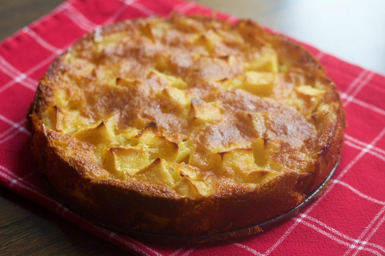 torta di mele rovesciata con Bimby