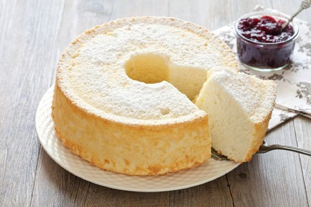 angel cake ricetta facile (con cremor tartaro)