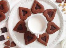 Biscotti al cioccolato senza burro e uova