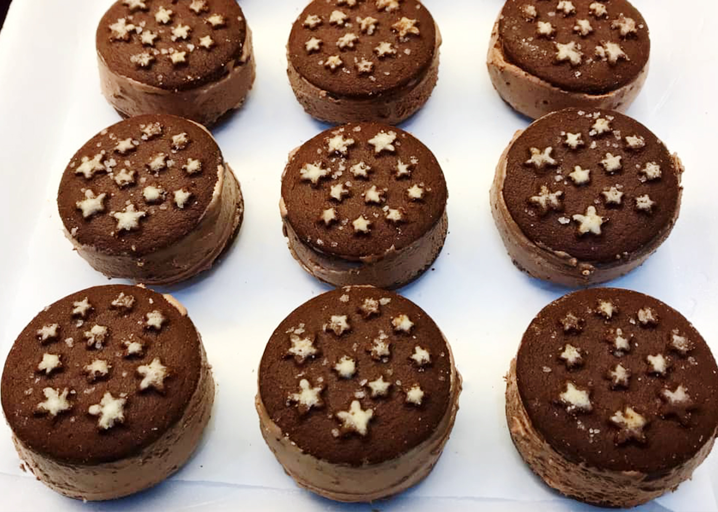 Biscotti gelato Pan di Stelle