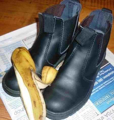 bucce per le scarpe