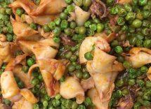 Calamari con piselli ricetta Bimby