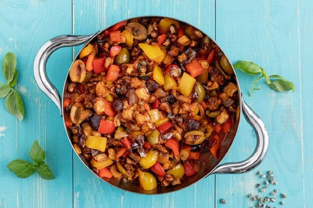 caponata di verdure ricetta originale
