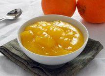 Crema all'arancia senza latte e uova Bimby